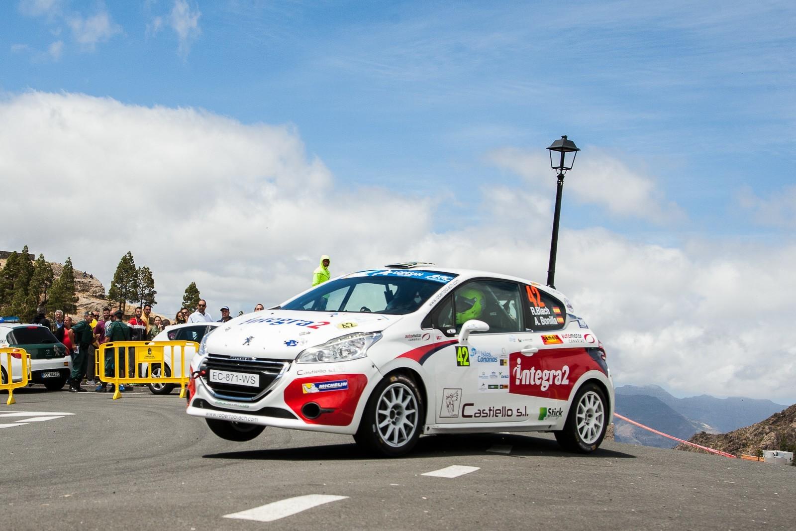 RaceSeven supera con éxito el reto continental del Rally Islas Canarias y se prepara para el inminente Villa de Adeje